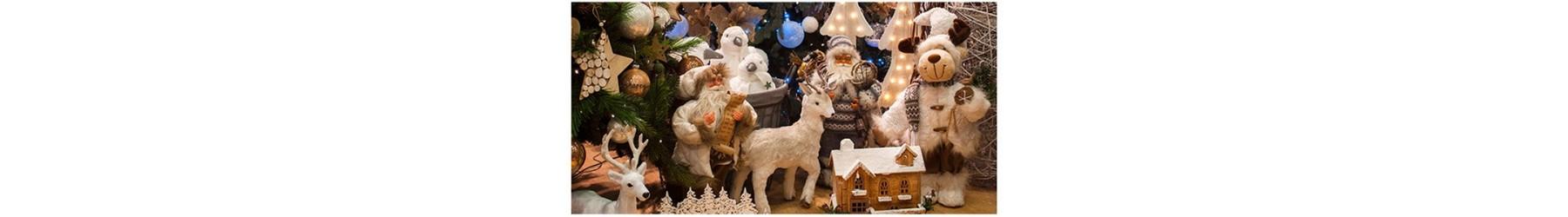 Χριστουγεννιάτικα λούτρινα σε διάφορα σχέδια και θέματα