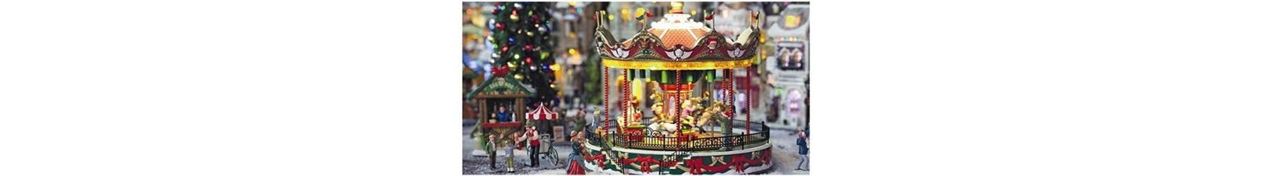 Παραμυθένια  Χριστουγεννιάτικα Carousel  σε διάφορες παραστάσεις