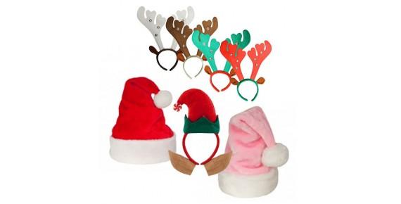 Χριστουγεννιάτικοι Σκούφοι - στέκες