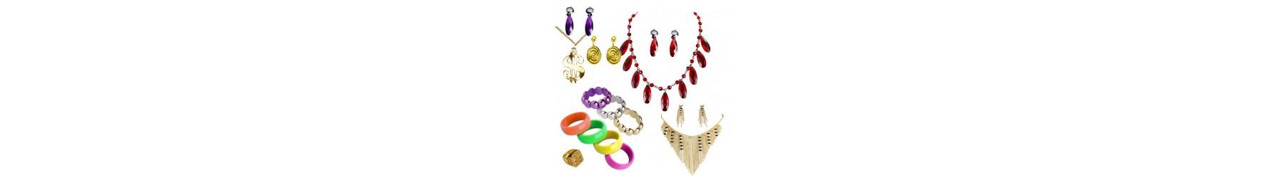 Αποκριάτικα Κοσμήματα, Κολιέ Βραχιόλια σκουλαρίκια και δακτυλίδια