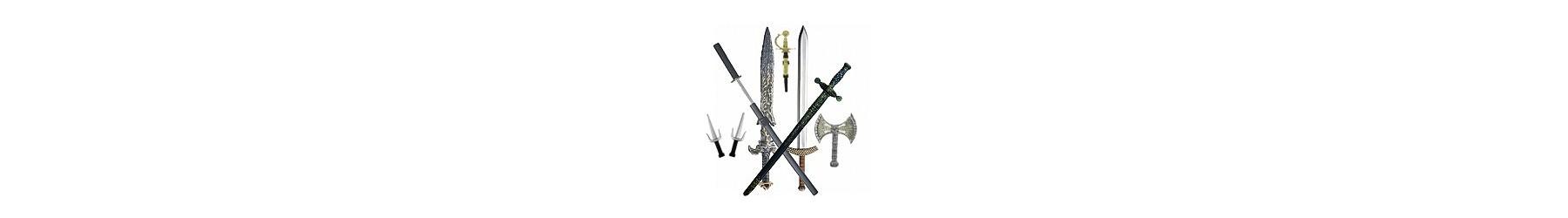 Όλη η συλλογή σε αποκριάτικα σπαθιά, ξίφη, ακόντια, τόξα και μαχαίρια