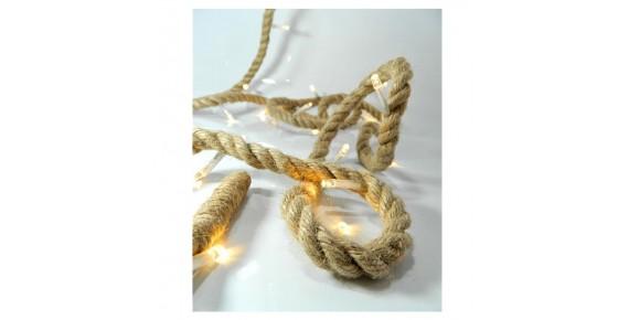 Λαμπακια διακοσμητικά με σχοινι
