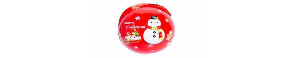 Χριστουγεννιάτικες παιδικές μπαλες για διακόσμηση και παιδικό στολισμό
