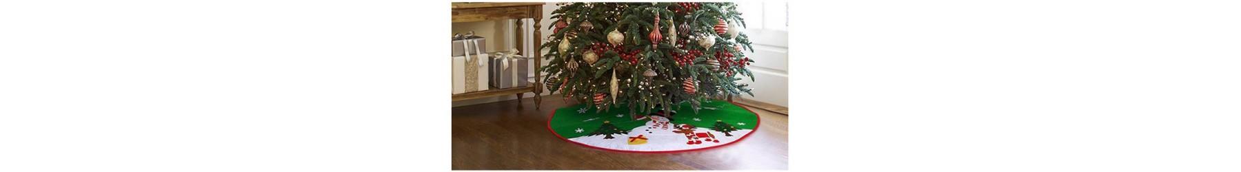 Χριστουγεννιάτικες ποδιές, γαντζάκια για μπάλες, βάσεις για το δέντρο
