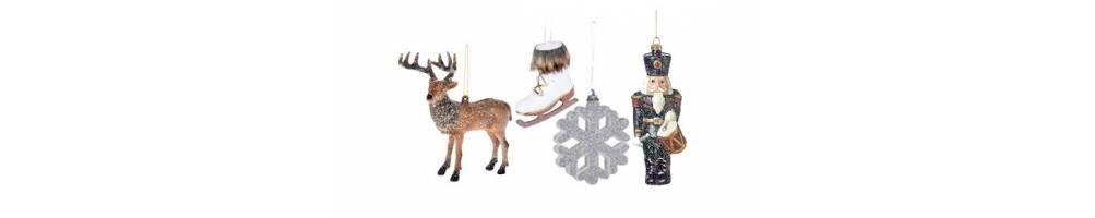 Χριστουγεννιάτικα στολίδια από συνθετικό υλικό