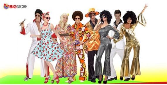 Στολές Disco Pop Rock Χίππις