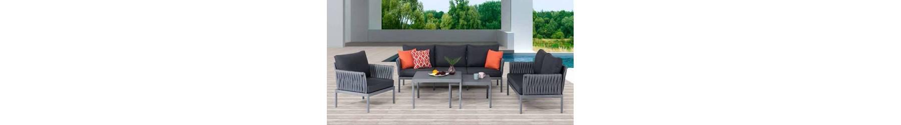 Καθιστικά και σαλόνια κήπου και βεράντας από αλουμίνιο