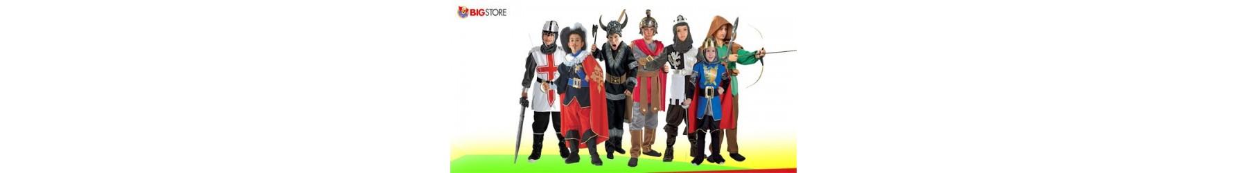 Αποκριάτικες παιδικές στολές Ιππότη Πολεμιστή για αγόρια