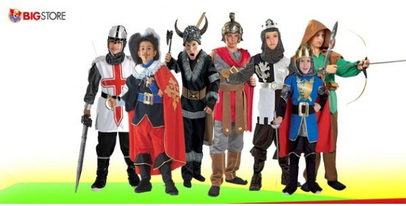 Αποκριάτικες στολές Ιππότη Πολεμιστών
