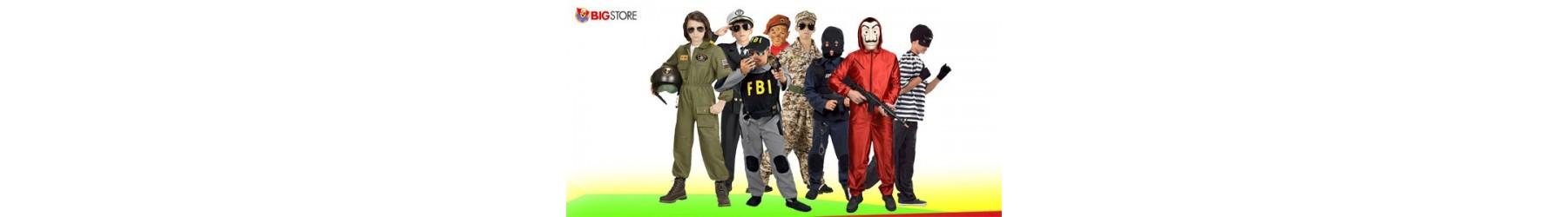 Αποκριάτικες παιδικές στολές Αστυνόμου Γκάνκστερ και Στρατιώτη