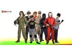 Αποκριάτικες στολές Στρατιωτικές Αστυνόμου γκάνκστερ και Πανκ