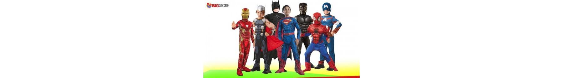 Αποκριάτικες παιδικές στολές υπερηρώων, καρτούν, κόμικς και σινεμά