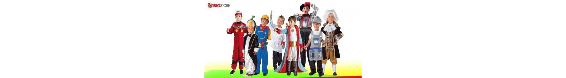Αποκριάτικες παιδικές στολές σε διάφορα θέματα για αγόρια