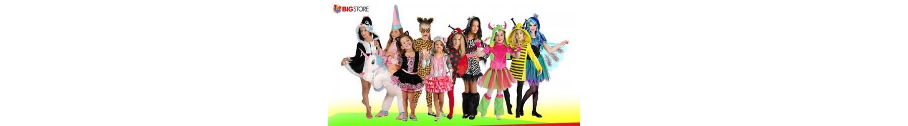 Αποκριάτικες παιδικές στολές ζωάκια για κορίτσια