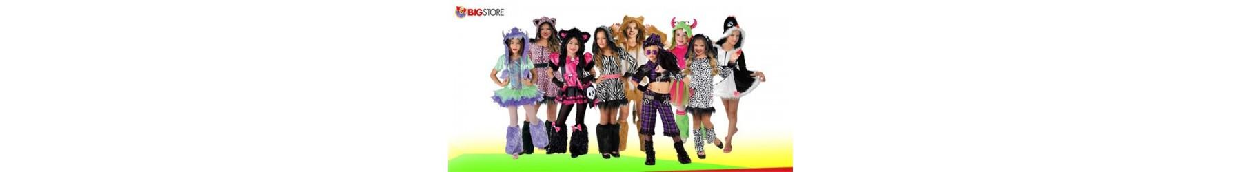 Αποκριάτικες παιδικές στολές Μοδάτες Crazy για κορίτσια