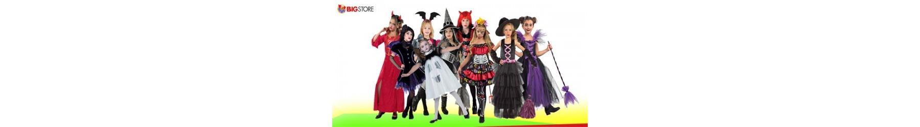 Αποκριάτικες στολές Halloween, Μάγισσας και Βαμπίρ για κορίτσια