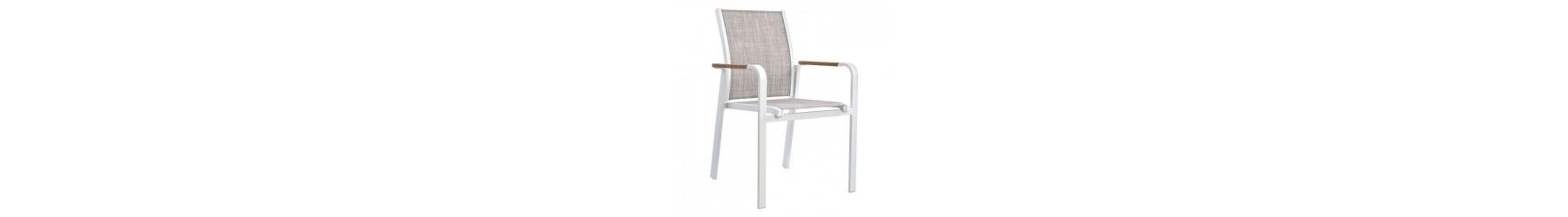 Καρέκλες κήπου και βεράντας από αλουμίνιο, για εξωτερικούς χώρους