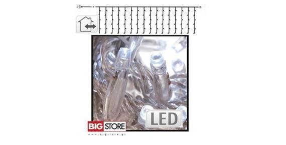 LED Χριστουγεννιάτικες Κουρτίνες συμμετρικές