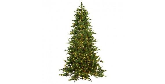 Δέντρα με φωτάκια και Οπτικές ίνες