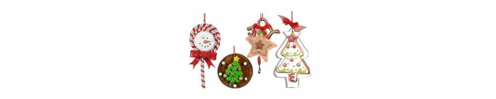 Ζαχαρωτά στολίδια σε Χριστουγεννιάτικα θέματα