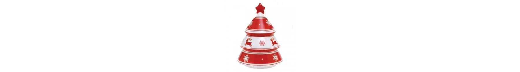 Μπισκοτιέρες Χριστουγεννιάτικες και δοχεία σε διάφορα σχέδια