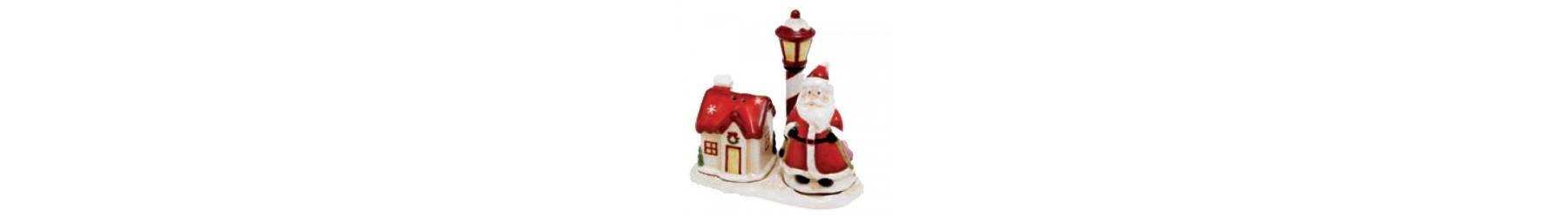 Χριστουγεννιάτικα αλατοπίπερα για το τραπέζι σας σε πολλά σχέδια