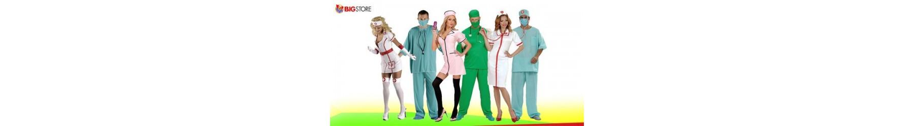 Αποκριάτικες στολές Ιατρών και Νοσοκόμων για Άντρες και Γυναίκες