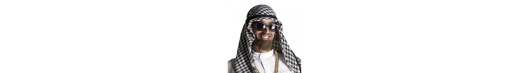 Αξεσουάρ για αποκριάτικες στολές άραβα σουλτάνου και μαχαραγιά