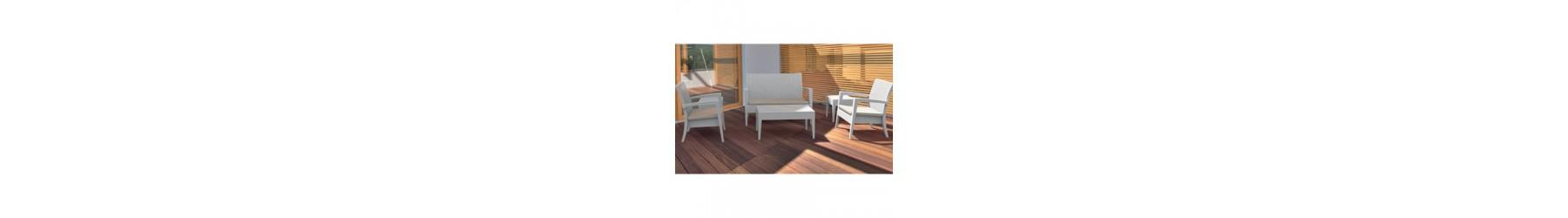 Σαλόνια και καθιστικά με δομή από συνθετικό PVC