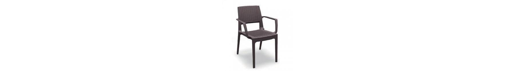 Καρέκλες με δομή από συνθετικό PVC σε μοντέρνα σχέδια