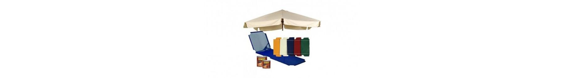 Ανταλλακτικά και προιόντα συντήρησης για έπιπλα κήπου και ομπρέλες