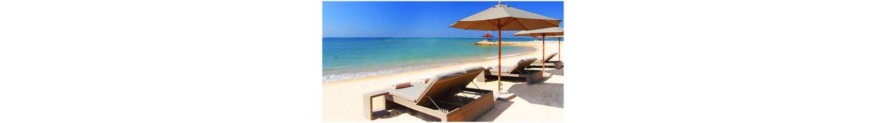 Ξαπλώστρες πισίνας - παραλίας. Αλουμινίου, ξύλινες, Rattan, Pvc, κ.α.