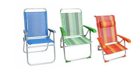 Καρέκλες παραλίας