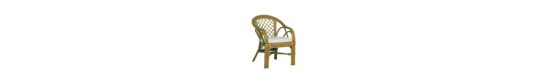 Πολυθρόνες Bamboo σε κλασικά και μοντέρνα σχέδια.